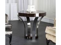 Tomas & Saez: Prismas: стол журнальный круглый  (эбеновое дерево)