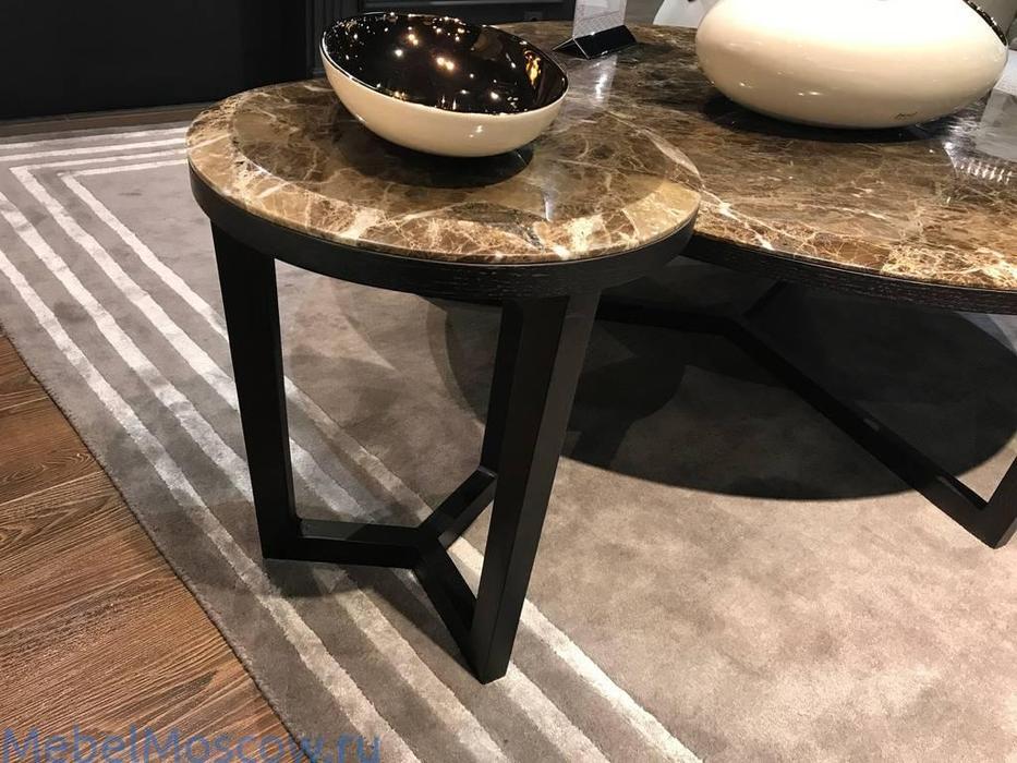 MHC: Delphi-A: стол кофейный (мрамор, мореный дуб)