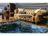 MHC: Figaro-A: стол кофейный (эбеновое дерево, металл)