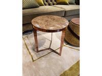 MHC: Delphi-B: стол журнальный (мрамор, золото)