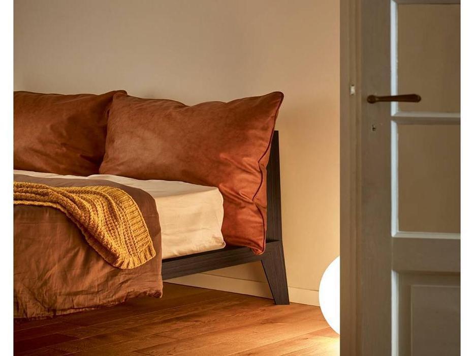Treku: Bora: кровать 160х200  (дуб темный)
