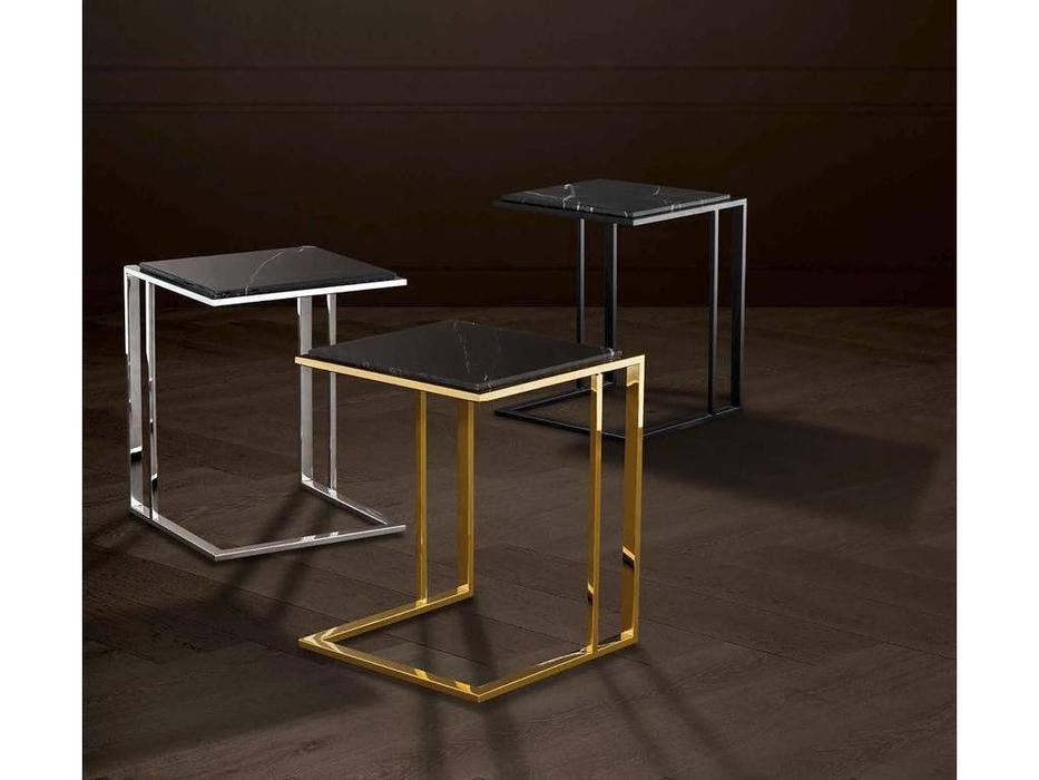 Eichholtz: Cocktail: столик придиванный  (металл, мрамор)