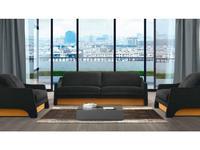 Eko Divani: Boulevard: диван 4 местный тк. Super (ткань)