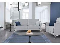 Miki Ferrari: Lime: диван 3 местный cat.Glamour (ткань)