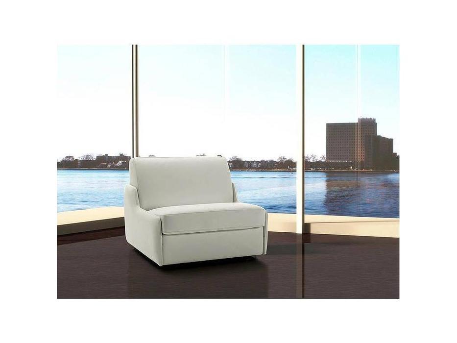 VerySofa: Dream: кресло-кровать (кожа, белый)