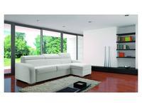VerySofa: Dream: диван угловой раскладной (кожа, белый)