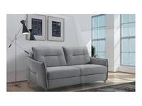 VerySofa: Slim: диван 3 местный раскладной (ткань, серый)