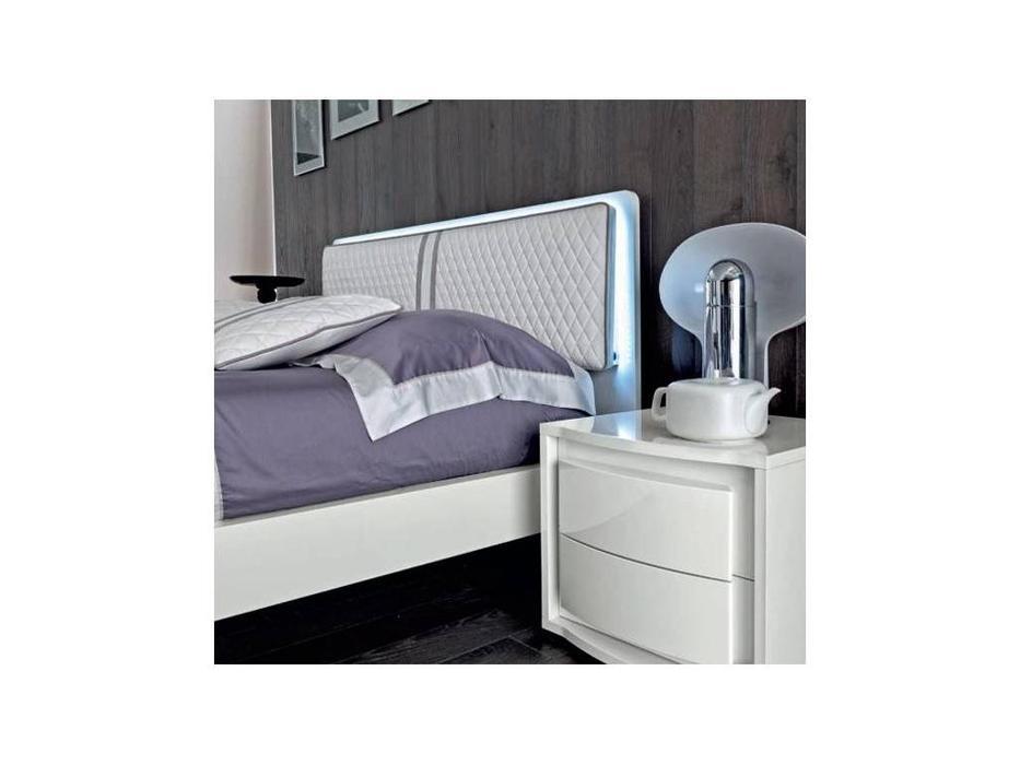 Camelgroup: Dama Bianca: кровать 160х200 (белый лак)