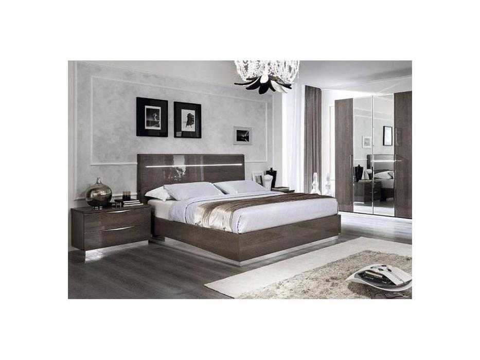 Camelgroup: Platinum: кровать Legno 160х200 (шпон березы)