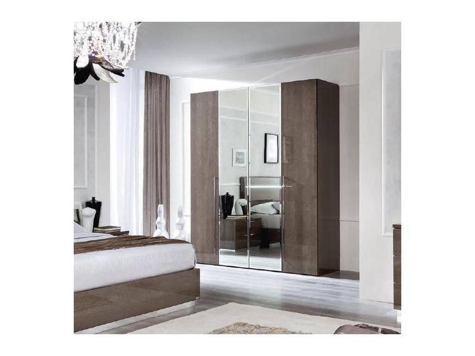Camelgroup: Platinum: шкаф 4 дверный без зеркал (шпон березы)