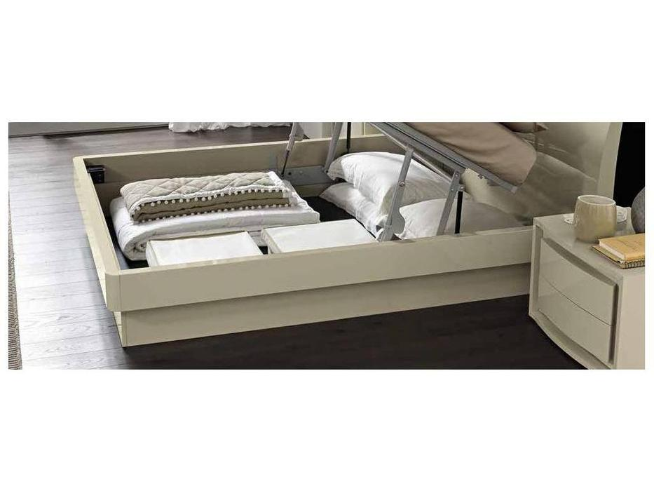 Camelgroup: Altea: кровать 160х200  с под.мех.Luna (avorio)