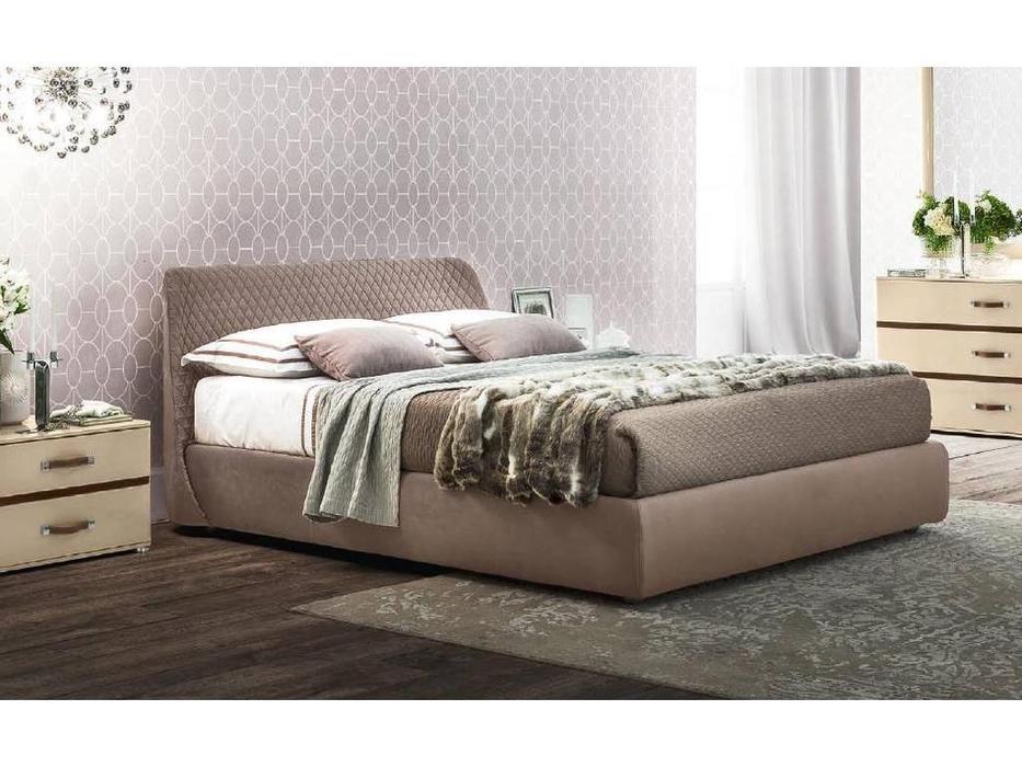 Camelgroup: Altea: кровать 160х200  Cleo (коричневый)