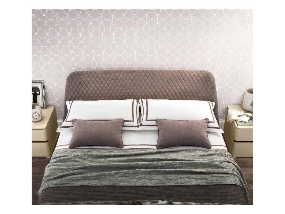 Camelgroup: Altea: кровать 160х200  Cleo с под.мех.Luna (коричневый)