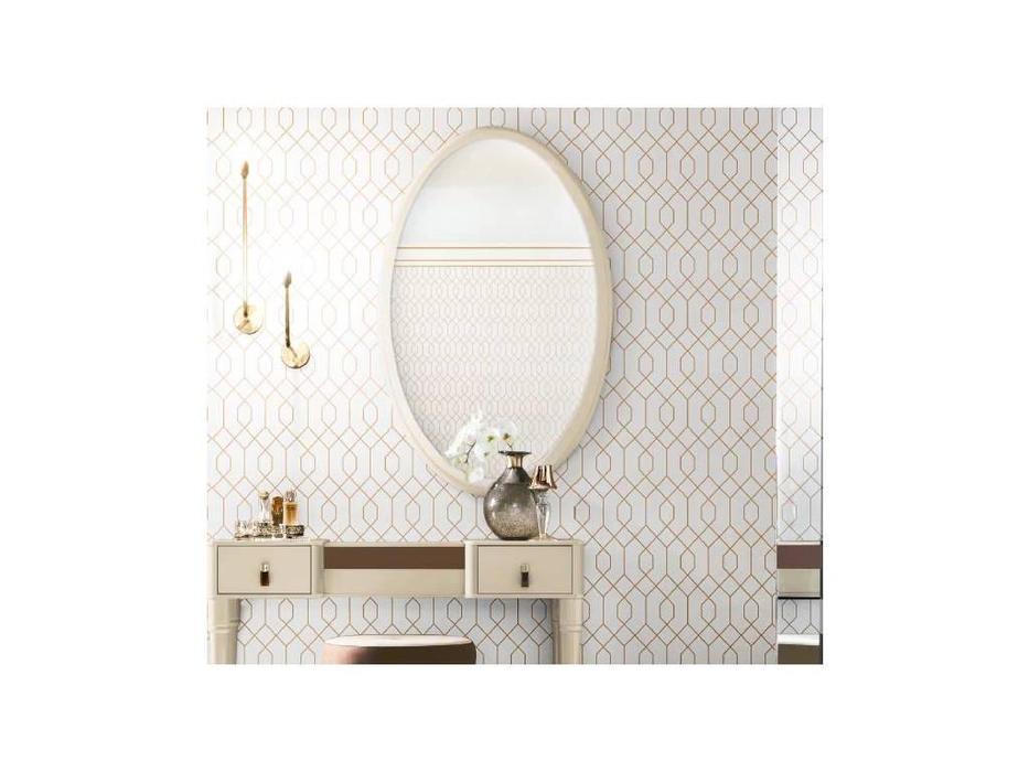 Camelgroup: Altea: зеркало навесное  Vela овальное (avorio)