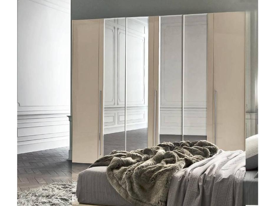 Camelgroup: Altea: шкаф 6-ти дверный  с зеркалами (avorio)