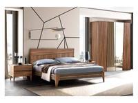 Camelgroup: Fold: кровать 160х200 (вяз табачного цвета)