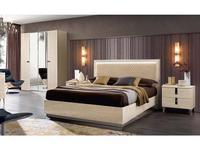 Camelgroup: Ambra: кровать 160х200 с подъемным механизмом (янтарная береза)