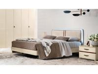 Camelgroup: Altea: кровать 180х200  с под.мех.Luna (avorio)