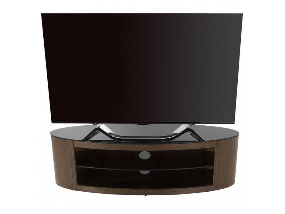AVF: Buckingham: тумба под телевизор  (шпон орех)