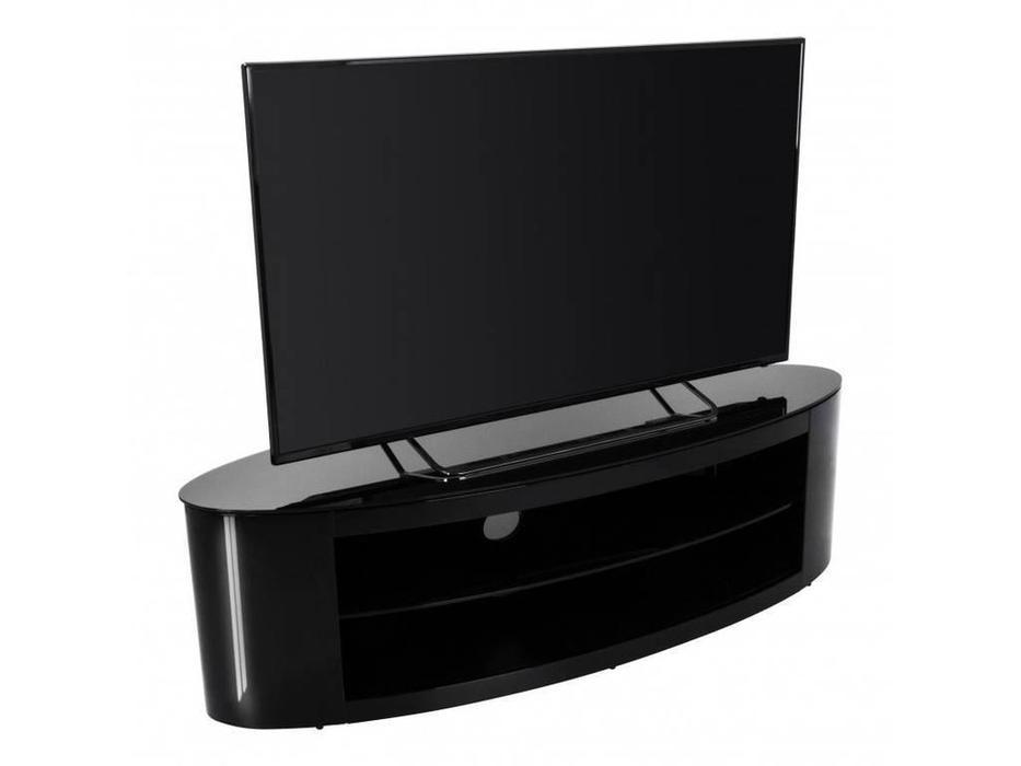 AVF: Buckingham: тумба под телевизор  (черный глянец)