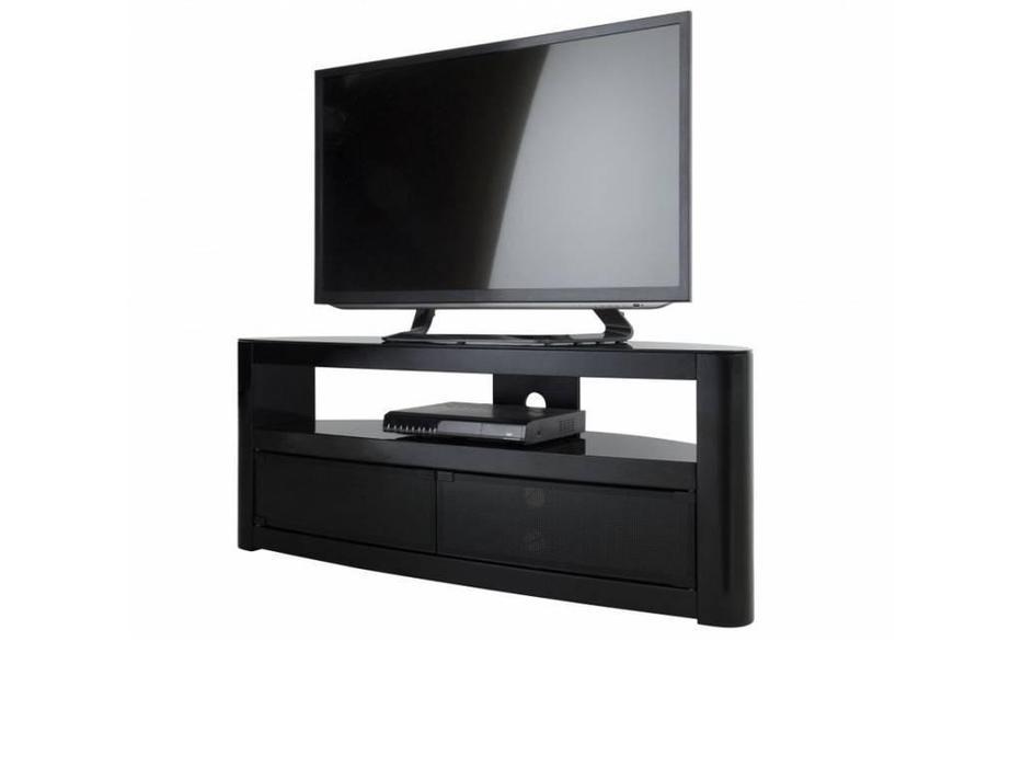 AVF: Burghley: тумба под телевизор  (черный глянец)