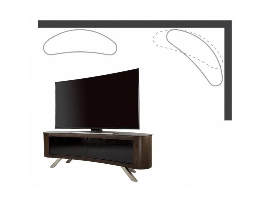 AVF: Bay: тумба под телевизор  (шпон орех)