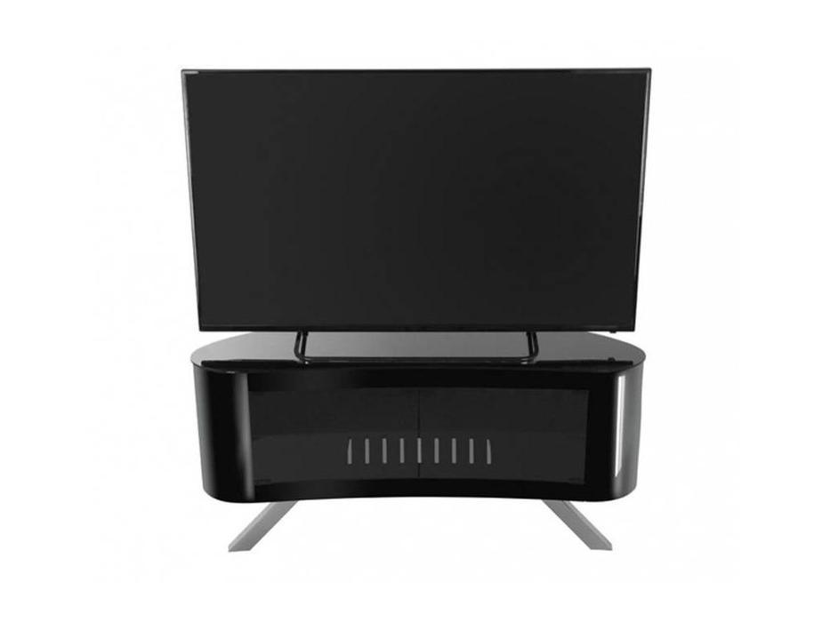 AVF: Bay: тумба под телевизор  (черный глянец)