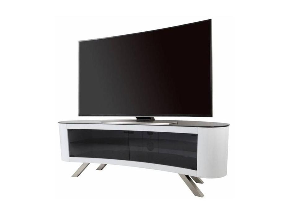 AVF: Bay: тумба под телевизор  (белый глянец)