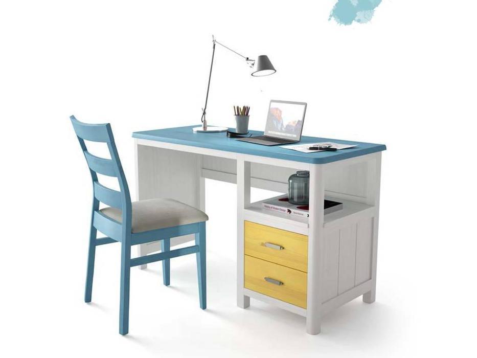 Grupo Seys: Cerdena: стол письменный  (Blanco Decape)