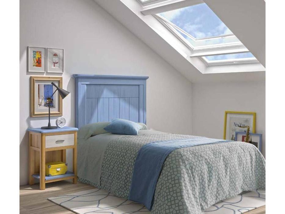 Grupo Seys: Cerdena: кровать  90х200 (Azul Cielo)