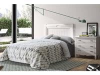 Grupo Seys: Amberes: кровать Besora  90х200 (Blanco Lienzo)