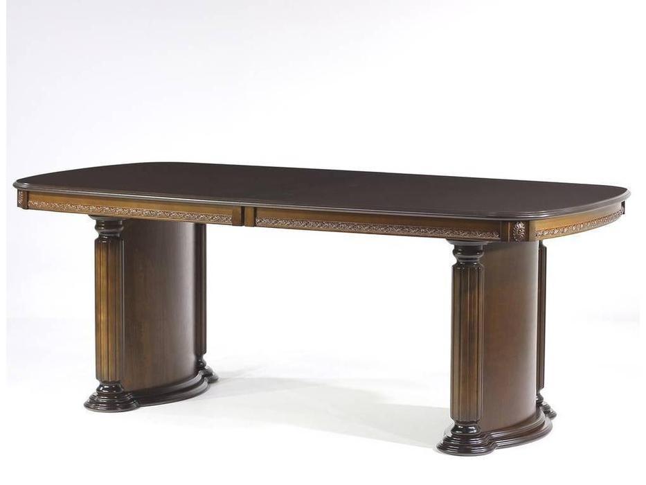 Юта: Альт: стол обеденный раскладной  (орех)