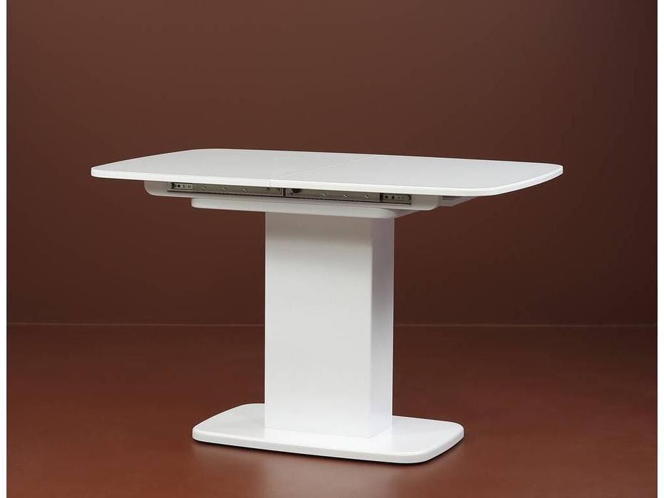 Юта: Альт: стол обеденный   раскладной со стеклом