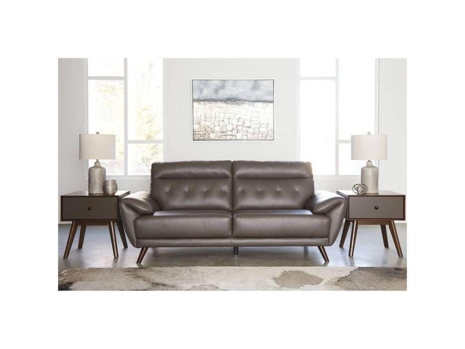 Ashley: Sissoko: диван 3 местный  (серый)