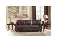 Ashley: Bristan: диван 3 местный  (коричневый)