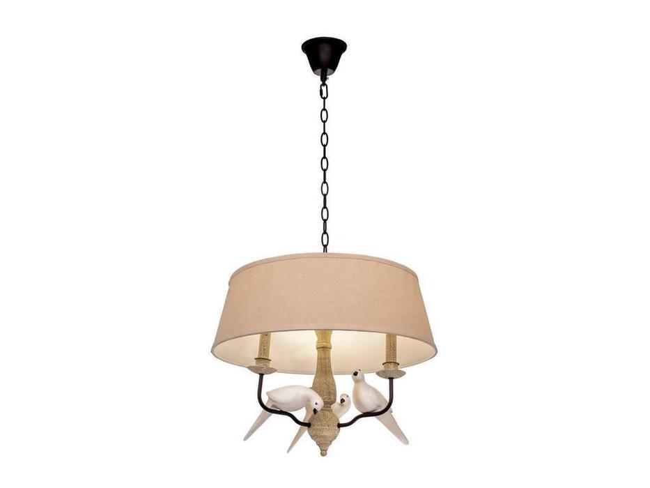 Loftit: Birds: люстра подвесная  3xE14 max 40W (коричневый состаренный)