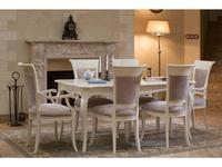 Mmobili: Primavera: стол обеденный  раскладной (крем)