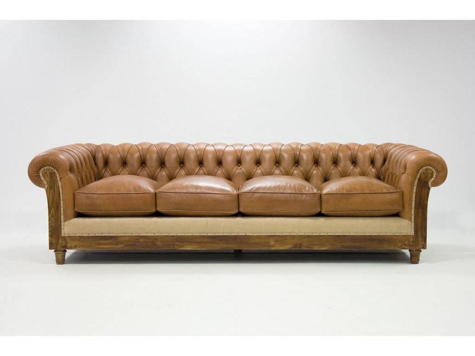 Crearte: Essence Chesterfield: диван 3 местный