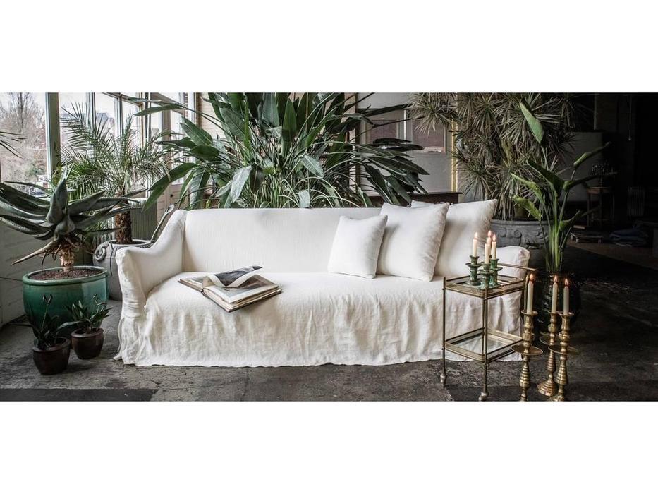 Crearte: Contemporain Ascot: диван раскладной (лён)