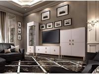 ЯМ: Римини: стенка в гостиную (слоновая кость, золото)