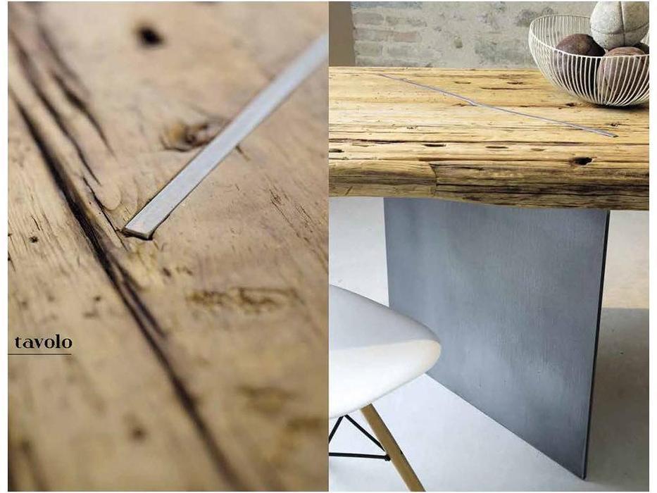 Nature Design: ILL tavolo: стол обеденный  (naturale)