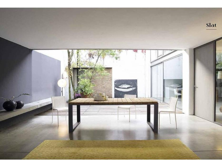 Nature Design: Slat: стол обеденный  (naturale)