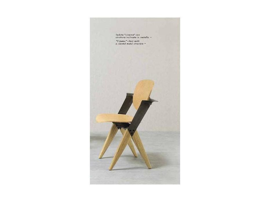 Nature Design: Anthony: стул  (naturale, черный)
