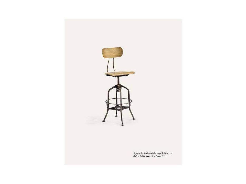 Nature Design: Roger: стул барный  (naturale, черный)
