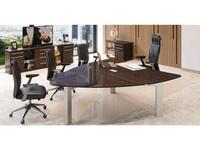 Zzibo Mobili: Mercury: стол письменный (дуб шоколадный)