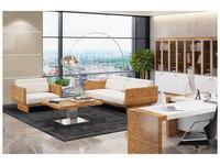 Zzibo Mobili: Tokyo: диван (белый глянец, матовый зебрано)