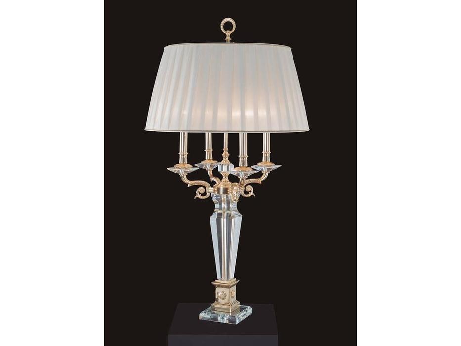 Jago: Royal: лампа настольная  (золто, белый)