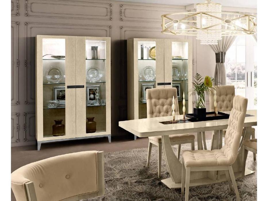 Camelgroup: Ambra: витрина 2 дверная (янтарная береза)