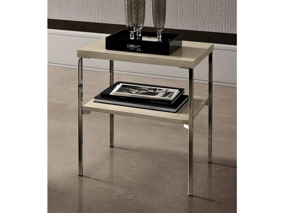 Camelgroup: Ambra: столик приставной угловой (янтарная береза)