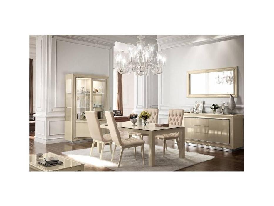 Camelgroup: La Star: стол обеденный  раскладной 140см. (слоновая кость)